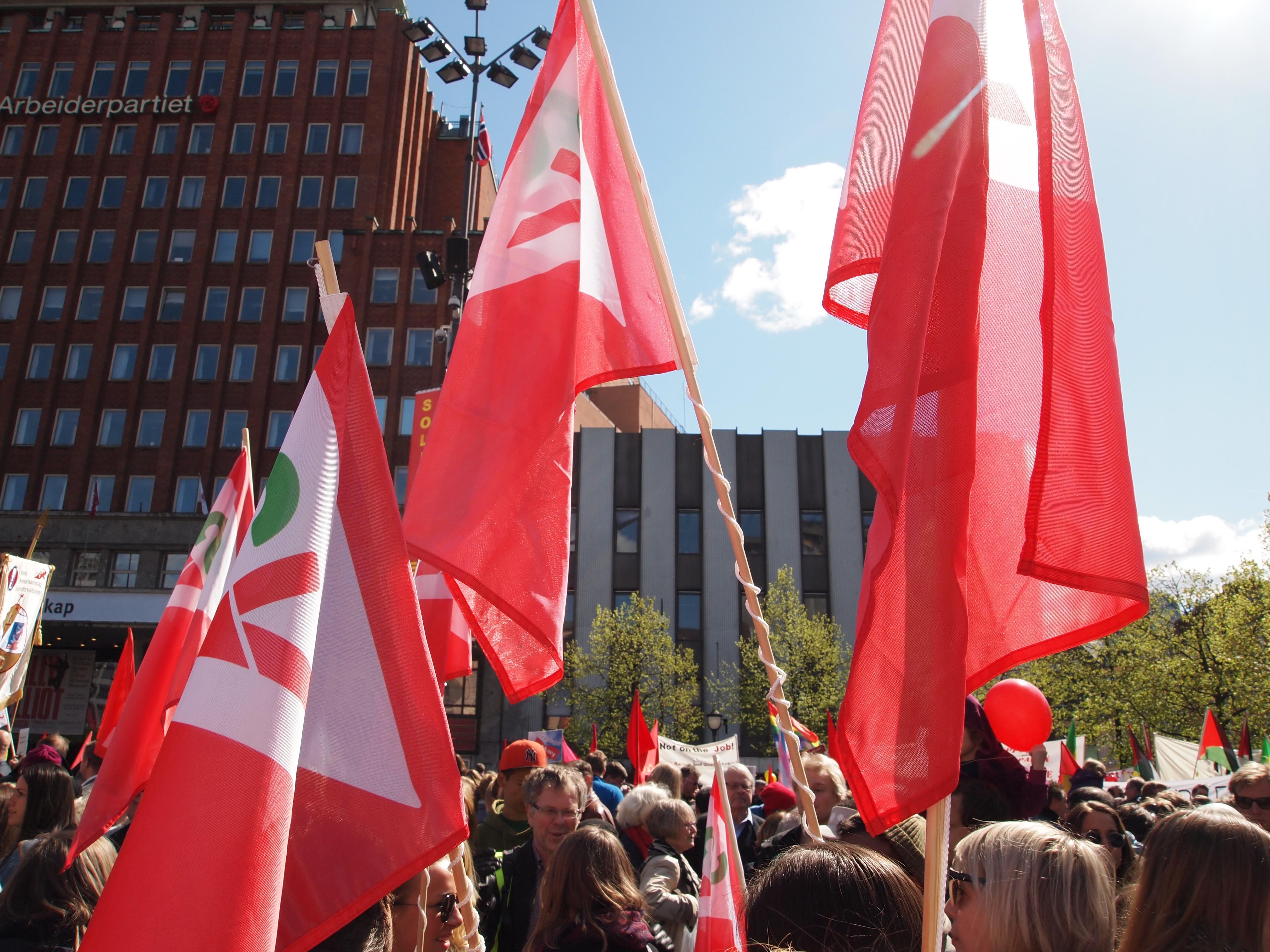 Feir 1. mai med Oslo SV